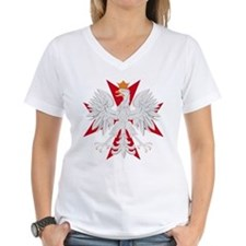 Polish Eagle Red Maltese Cros Shirt