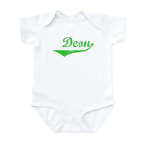 Deon Vintage (Green) Infant Bodysuit