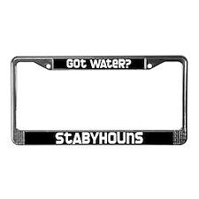 got water? Stabyhoun License Plate Frame