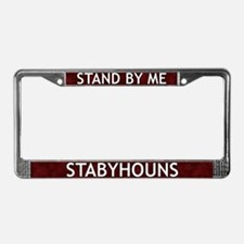 Stand By Me Stabyhoun License Plate Frame