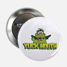 """Funny Green monster 2.25"""" Button"""