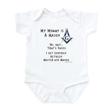 My Mommy is a Mason Infant Bodysuit