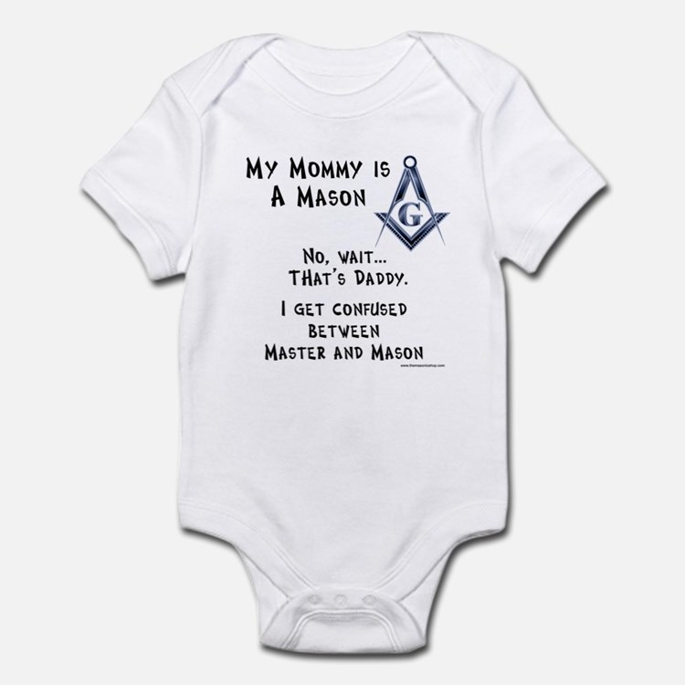 My Mommy is a Mason Infant Bodysuit