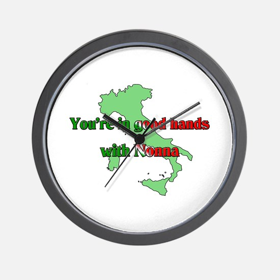 Your in good hands with Nonna Wall Clock