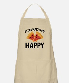 Pizza Makes Me Happy Apron