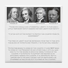 Liberty & Patriots Tile Coaster