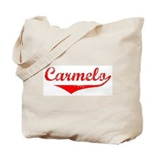 Carmelo Vintage (Red) Tote Bag