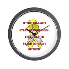 Stand Proud Mom Wall Clock