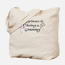 Happiness is being a Granny Tote Bag