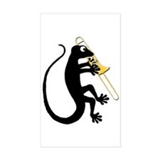 Gecko Trombone Decal
