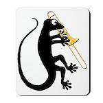 Gecko Trombone Mousepad