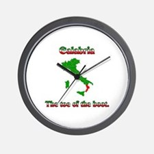 Calabria, the toe of the boot. Wall Clock