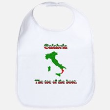 Calabria, the toe of the boot. Bib