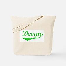 Devyn Vintage (Green) Tote Bag