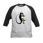 Gecko Trombone Kids Baseball Jersey