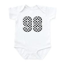 Checkered Flag #98 Infant Bodysuit