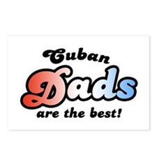 Cuban Dads are the Best Postcards (Package of 8)