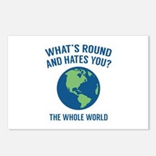 The Whole World Postcards (Package of 8)