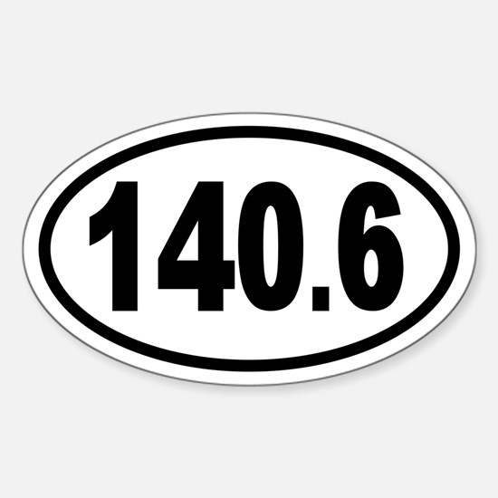 Iron 140.6 Oval Decal