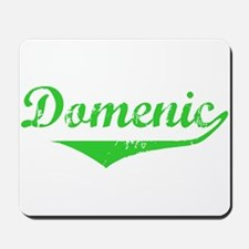 Domenic Vintage (Green) Mousepad