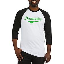 Domenic Vintage (Green) Baseball Jersey