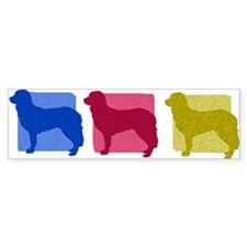 Color Row Stabyhoun Bumper Bumper Sticker