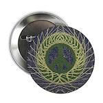 Mandala Peace Sign (Button)