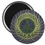 Mandala Peace Sign (Magnet)