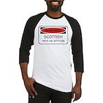 Attitude Scottish Baseball Jersey