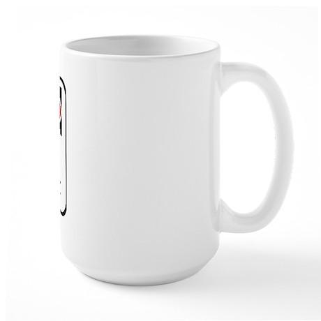 Attitude Scottish Large Mug