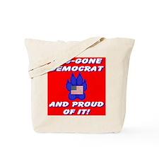 Dog-Gone Democrat Tote Bag