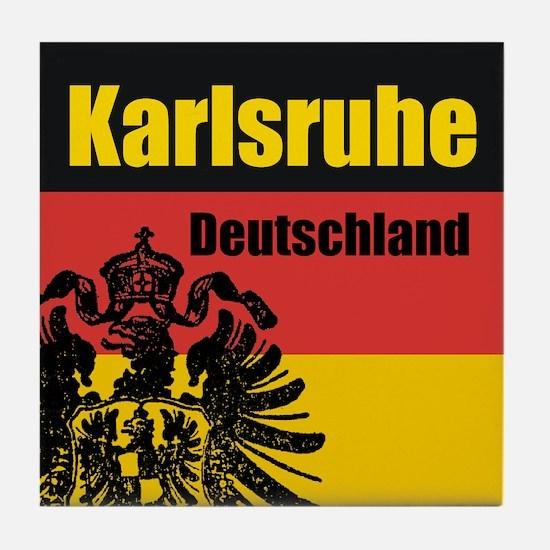 Karlsruhe Deutschland Tile Coaster