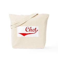 Chet Vintage (Red) Tote Bag