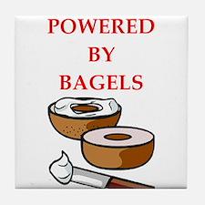 bagels Tile Coaster