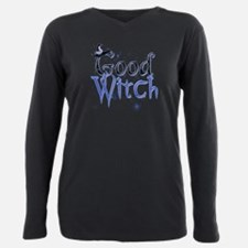 Funny Witch Plus Size Long Sleeve Tee