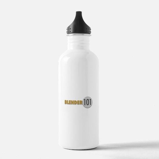 Blender101.com Water Bottle
