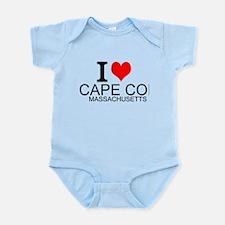 I Love Cape Cod, Massachusetts Body Suit