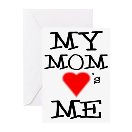 My Mom Loves Me Greeting Cards (Pk of 10)