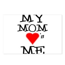 My Mom Loves Me Postcards (Package of 8)