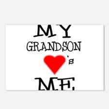 My Grandson Loves Me Postcards (Package of 8)