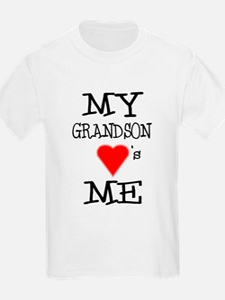 My Grandson Loves Me T-Shirt