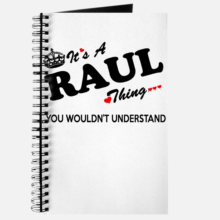 RAUL thing, you wouldn't understand Journal