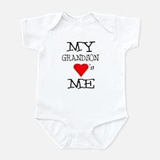 My Grandson Loves Me Infant Bodysuit
