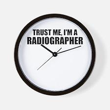 Trust Me, I'm A Radiographer Wall Clock