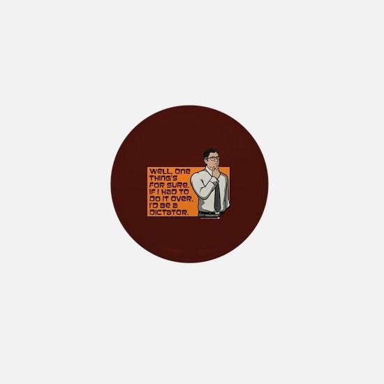 Archer Cyril Dictator Mini Button