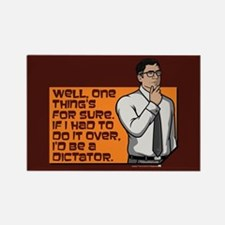 Archer Cyril Dictator Rectangle Magnet