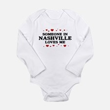 Loves Me in Nashville Body Suit