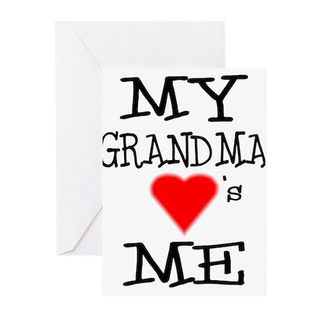 My Grandma Loves Me Greeting Cards (Pk of 10)