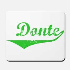 Donte Vintage (Green) Mousepad