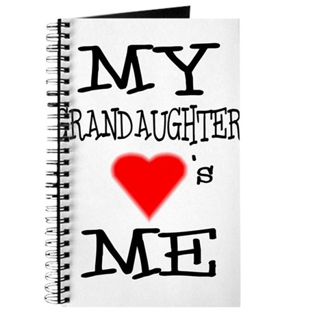 My Grandaughter Loves Me Journal